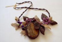 bead necklaces /
