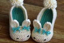 crochet slippers & boots /