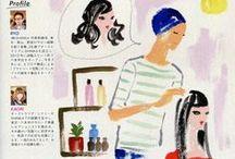 works:IZANAGI / 『IZANAGI』(髪の文化舎)「美容師のための世界に通用するお・も・て・な・し♪」 挿絵