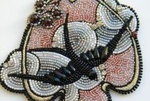bead embroidery /