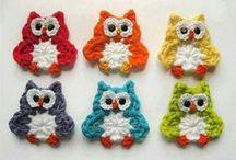 Owls (handmade) - Bagoly - Eulen - Совы - Búhos / by melinda munkai