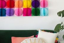 DIY Home / Curating colorful DIY, crafts, gift ideas and other projects to try that will make your home pretty and happier. | Proyectos de bricolaje, manualidades, ideas de regalos y otros proyectos que intentar para llenar tu casa de color!