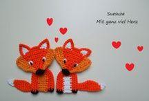 Fox (handmade) - Róka - Fuchs - Лиса. / by melinda munkai