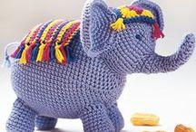 Elephant (handmade) - elefánt - слон / by melinda munkai