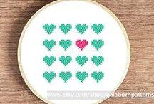 cross stitch / pixels
