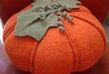 Pumpkin (handmade) - tök - kürbis - бундева - calabaza - tыковка / by melinda munkai