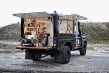 Food truck / Food catering cart