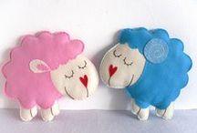 Lamb, sheep (handmade) - bárány - lamm - ягненок - cordero - јагње / by melinda munkai