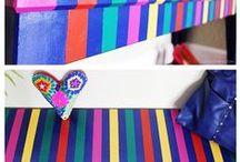 Colorful DIYS / Awesome colorful DIYs and crafts for you and your home! | Manualidades y DIYs para llenar tu hogar y vida de color!