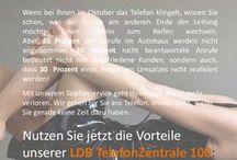 Flyer / Entwürfe und Flyer der LDB Gruppe