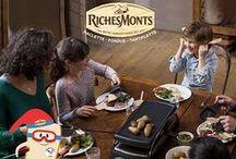 Inspiration #racletteàski RichesMonts
