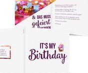 Geburtstagsfeier / Hier gibt es alles, was zu einer Geburtstagsfeier gehört: Geschenke, Rezepte, Cocktails, ...