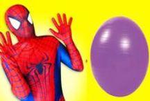 Super Heroes fun real life