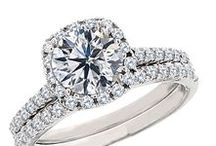 Halo Style Engagement Rings From Diamonds Rock / The halo style has quickly become one of, if not the most, popular style sold. A halo is referring to diamonds that go around the center stone, typically highlighting the shape of the diamond. This style adds sparkle around the center and at the same time can make the center stone appear larger.