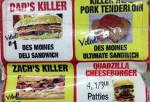 Life in The Killer Zone! Eats at B&B Grocery, Meat & Deli.