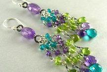 Beading ideas - Earrings :)