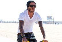 David Beckham...casual style