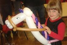 Balloon Models We Make / These are balloon modelling designs that we make at parties, events or promotions