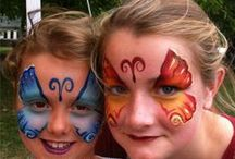 Face Painting Girls Designs 'On The Job' / These are 'On The Job' face painting designs from events, parties and promotions that we've worked.
