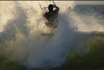 Kitesurfing / Kitesurfing is the ultimate sport. Ecological, exciting, social and You can do it all year around.
