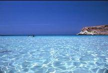 """Sicilia / """"La mia terra è sui fiumi stretta al mare"""" - Salvatore Quasimodo"""