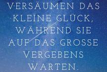 Sprüche und Zitate / Sprüche und Zitate