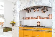Dream Lacanche Kitchens / Beautiful handmade Lacanche range cookers from Burgundy, France.