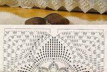 Wzory szydełkowe- serwetki