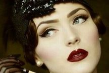Great Gatsby Themed Wedding or Party / Taking inspiration from the Great Gatsby and Art Deco for a themed Wedding or Party - decor, dresses, makeup, hari, styling