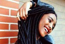 AFRO HAIR / Idées de coiffure et de couleur...