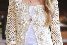Wzory szydełkowe- bluzki, sukienki