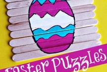Easter Inspiration for Moms and Kids / This board features ideas for a happy Easter for the whole family! Easter ideas for kids | Easter inspiration for parents | Easter activities for kids