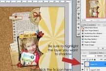 scrapbooking goes digital / some digital inspiration