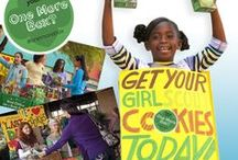 Girl Scout Cookies / The Girl Scout Cookie Program is the nation's largest girl-led business. Selling cookies teaches goal setting, decision making, money management, people skills and business ethics—aspects essential to leadership, to success and to life.