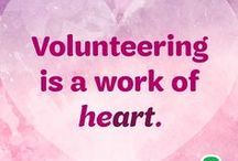 Volunteer Appreciation / Show your Girl Scout volunteer how much she means to you with these simple ideas.