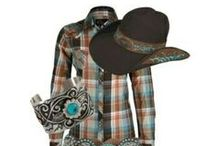 Country Closet / I love country clothes. It's a necessity in my life: rodeos, camping, pack trips, yard work, cutting wood, all that. Plus, I look good wearing it! lol / by Julia Breckenridge Sellers