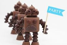 Robbi Robot / Roboter / Witzige Roboter