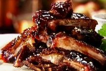 Ribs  ,roasts  & BBQ / Ribs , roasts , bbq + side dishes and sauces