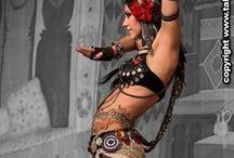 Bohemian/Hippie/Gypsy beauties