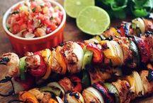 Kebabs & Skewers