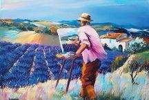 Christian Jequel / Kunst schilder uit Frankrijk