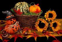Herfst/Halloween decoraties