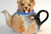 Theepotten fluitketels en tea for one! En theesetjes