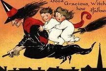Halloween cards en posters