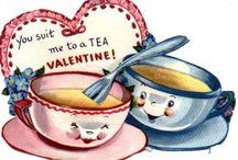 Valentijnskaarten vintage