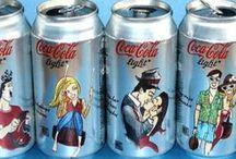 Coca cola blikken, alleen blikken!