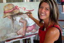 Maria Oosthuizen schilderes