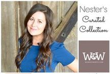 Nester's Curated Collection / The Nesting Place features her favorite Work of Worth items! workofworth.com #fairtrade