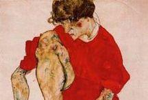 Egon Schiele / by Éva Nagyné Hajdu
