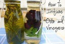 Oil ,  Vinegar & Flavored Salt